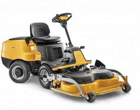 Stiga e-Park 220 Battery-Powered Front Mower with 95cm EL Combi QF Cutting Deck